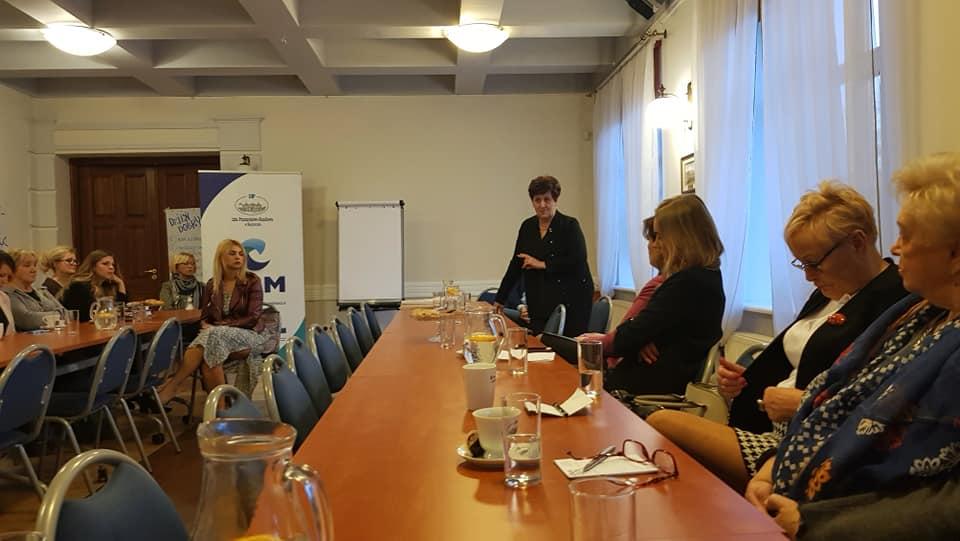 Podlaskie Stowarzyszenie Właścicielek Firm – Klub Kobiet Biznesu – rozmowa o mediacjach gospodarczych